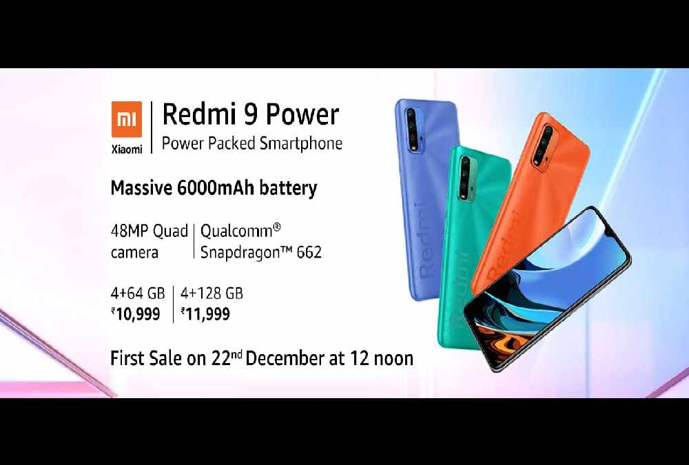 Xiaomi Redmi 9 Power Price in India 22 December 2020
