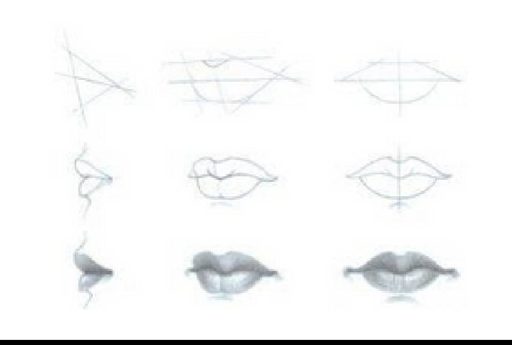 How to Draw Lips From three completely different Views